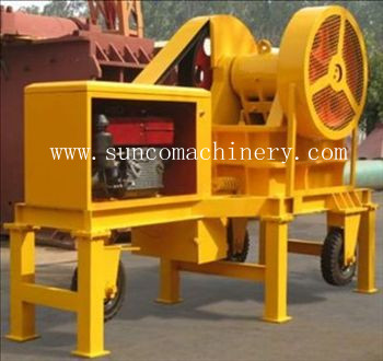 Small Portable Diesel Crusher