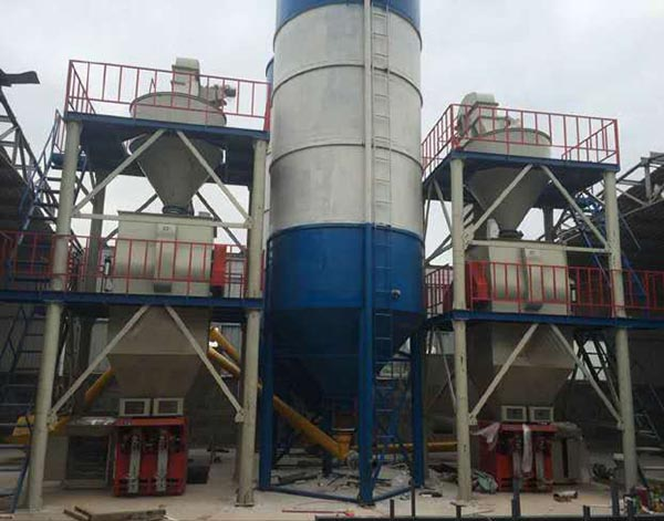 Small Dry Mortar Mixing Plant