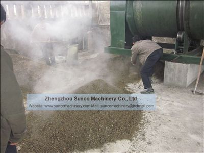 chicken manure dryer, chicken manure drying machine